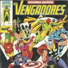 Cómics: LOS VENGADORES SEGUNDA EDICION (PLANETA-DEAGOSTINI / FORUM ) ORIGINAL 1991-1992 LOTE. Lote 31920504