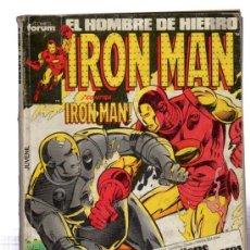 Cómics: EL HOMBRE DE HIERRO IRON MAN, FORUM, NÚMS, 31, 36, 37 Y 38. Lote 31963823