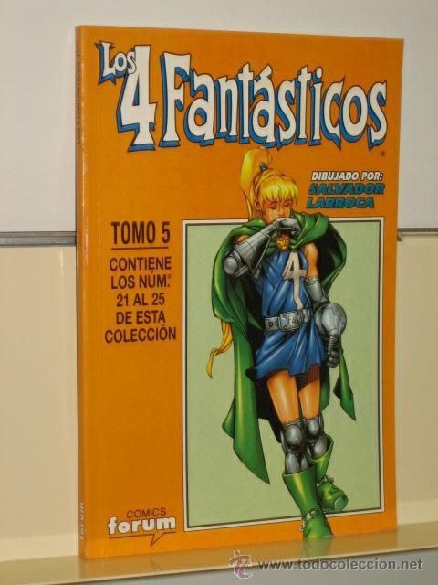 LOS 4 FANTASTICOS VOL. 3 Nº 21-22-23-24-25 EN UN TOMO RETAPADO - FORUM (Tebeos y Comics - Forum - Retapados)