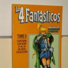 Cómics: LOS 4 FANTASTICOS VOL. 3 Nº 21-22-23-24-25 EN UN TOMO RETAPADO - FORUM. Lote 32024846