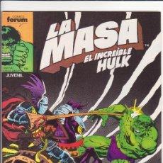 Cómics: LA MASA N 42 COMICS FORUM. Lote 32055845