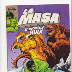 Cómics: LA MASA N 40 COMICS FORUM. Lote 32055885