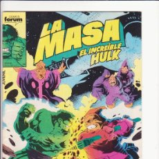 Cómics: LA MASA N 44 COMICS FORUM. Lote 33289997
