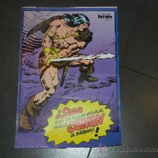Cómics: (M) POSTER CONAN EL BARBARO - COMICS FORUM, MARVEL 1983 - 49'5 X 34 CM, MARCAS DE ESTAR PLEGADO. Lote 32058464