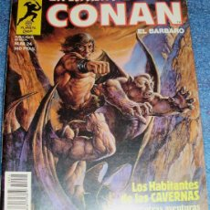 Cómics: - LA ESPADA SALVAJE DE CONAN EL BARBARO PLANETA SERIE ORO NUMERO 24. Lote 32081923