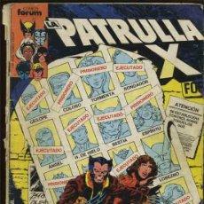 Fumetti: - LA PATRULLA X FORUM 1.985 NUMERO 4. Lote 32089130