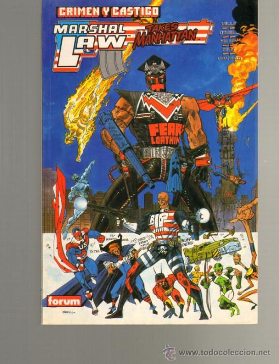 TEBEOS-COMICS GOYO - MARSHAL LAW - CRIMEN Y CASTIGO - PRESTIGE *DD99 (Tebeos y Comics - Forum - Prestiges y Tomos)