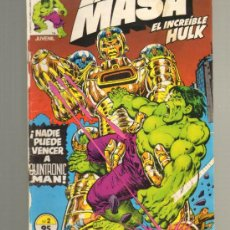 Cómics: TEBEOS-COMICS GOYO - MASA, LA... Nº 2 - VOL. 1 *BB99. Lote 32219512