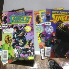Comics: NICK FURIA AGENTE DE SHIELD VOL. 2 ¡ CASI COMPLETA ! MARVEL - FORUM/ POSIBILIDAD DE NUMEROS SUELTOS. Lote 32267214