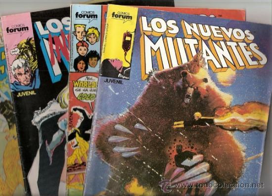 LOTE NUEVOS MUTANTES 1,2,3,19,31,35,39,42, ESPECIAL VERANO 87, SECRET WARS 46 (MARVEL-LINEA X-MEN) (Tebeos y Comics - Forum - Nuevos Mutantes)