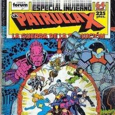 Cómics: LA PATRULLA-X ESPECIAL INVIERNO 1988 (LA GUERRA DE LA EVOLUCION) (FORUM-MARVEL-X-MEN). Lote 32283627