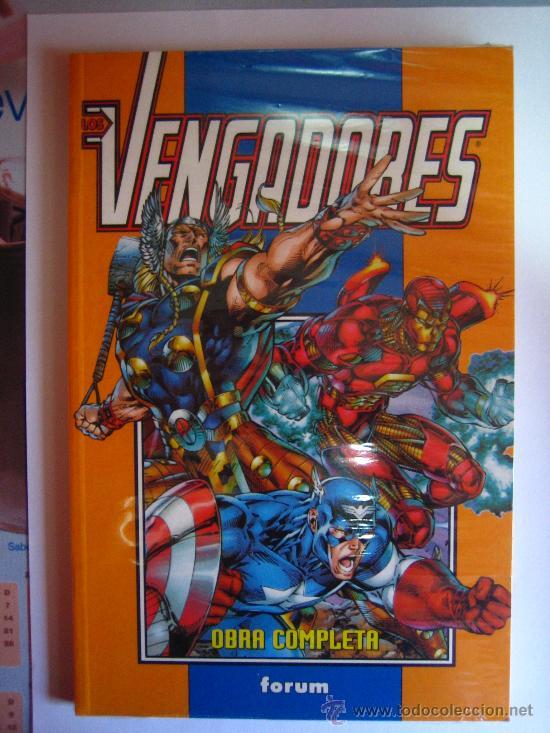 +++ LOS VENGADORES - OBRA COMPLETA - EDIT. PLANETA DEAGOSTINI - EDICIÓN AÑO 1998 - FORUM (Tebeos y Comics - Forum - Vengadores)
