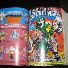 Cómics: SECRET WARS I Y II - FORUM - COMPLETA - 50 NUMEROS - MBE - ENCUADERNADA. Lote 32432576