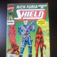 Cómics: NICK FURIA AGENTE DE SHIELD Nº 12 ED. FORUM 1992. Lote 32454702