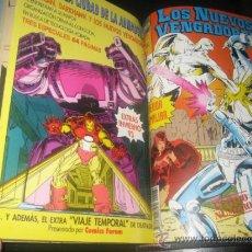 Cómics: LOS NUEVOS VENGADORES - VOL. 1 - FORUM - COMPLETA - 84 EJEMPLARES + 6 ESPECIALES - ENCUADERNADA. Lote 32443599