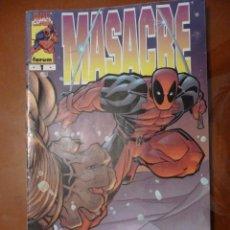 Cómics: MASACRE. VOL III. Nº 1. FORUM. Lote 32543008