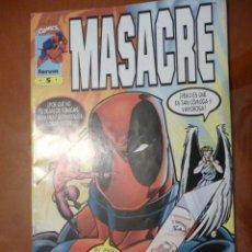 Cómics: MASACRE. VOL III. Nº 5. FORUM. Lote 32543051