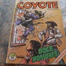 Cómics: COMIC-COYOTE Nº 3 FORUM J. MALLORQUI . Lote 32575576