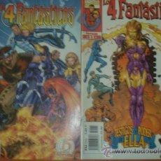Cómics: LOTE DE 2 COMICS LOS 4 FANTASTICOS. Nº 8 Y 11. CLAREMONT, LARROCA Y THIBERT. MARVEL COMICS.. Lote 32624538