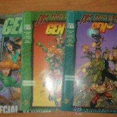 Cómics: LOTE DE 3 COMICS FIRE FROM HEAVEN-GEN 13. Nº 6, 12 Y 13. WILDSTORM. PLANETA.. Lote 32624575