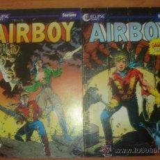 Cómics: LOTE DE 2 COMICS AIRBOY. Nº 5 Y 6. COMICS FORUM. PLANETA.. Lote 32624589