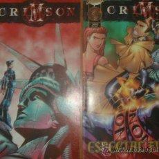 Cómics: LOTE DE 2 COMICS CRIMSON. Nº 16 Y ESPECIAL FIERAS. COLECCIÓN CLIFFHANGER!. PLANETA.. Lote 32624637