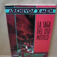 Cómics: ARCHIVOS X-MEN - LA SAGA DEL OSO MÍSTICO - C CLAREMONT B SIENKIEWICZ. Lote 32611294