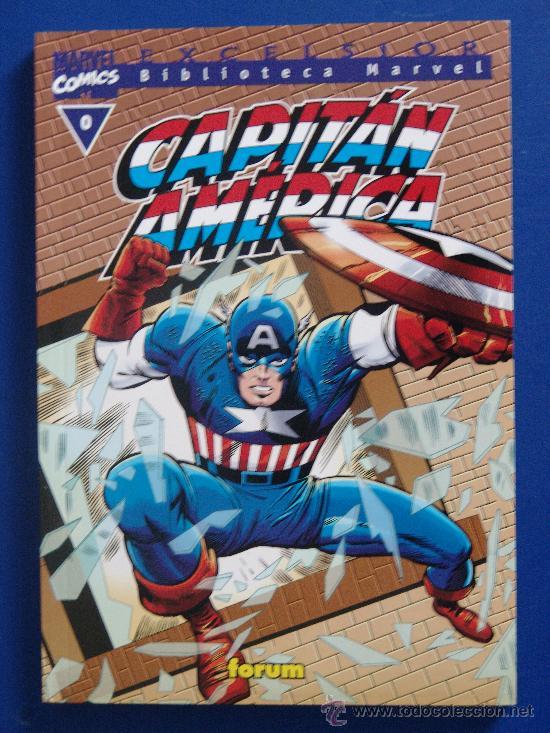 COLECCION COMPLETA BIBLIOTECA MARVEL CAPITAN AMERICA 21 TOMOS (Tebeos y Comics - Forum - Capitán América)