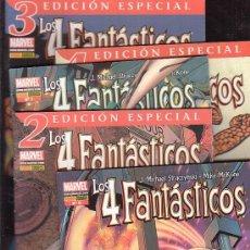 Cómics: LOS 4 FANTASTICOS VOL 6 - LOTE DE 5 EJEMPLARES - EDITA : PANINI. Lote 20098339
