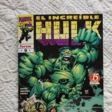 Cómics: HULK VOL 3 Nº 9. FORUM. Lote 32734148