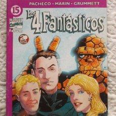 Cómics: LOS 4 FANTASTICOS. VOL-4 Nº 15. FORUM.. Lote 32746882