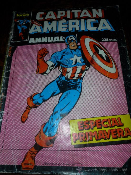 CAPITAN AMERICA ESPECIAL PRIMAVERA (Tebeos y Comics - Forum - Capitán América)