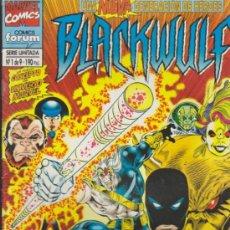 Cómics: BLACKWULF Nº 1. FORUM.. Lote 32748864