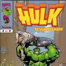 Cómics: HULK . DESENCADENADO. 2 TOMOS. COMPLETA.. Lote 32759918