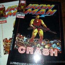 Cómics: IRON MAN CRASH COMPLETA.- EPIC COMICS N' 7 Y 8. Lote 40024010