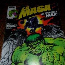 Cómics: LA MASA HULK V.1 N' 6. Lote 32786599