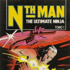 Cómics: NTH MAN. 2 TOMOS. OBRA COMPLETA +... . Lote 32969924