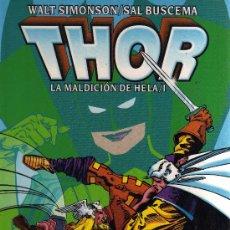 Cómics: THOR: LA MALDICIÓN DE HELA/1 - WALT SIMONSON, SAL BUSCEMA. Lote 32832187