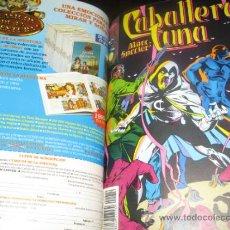 Cómics: CABALLERO LUNA - COMPLETA - 19 NÚMEROS - ENCUADERNADA - MBE - FORUM. Lote 32840126