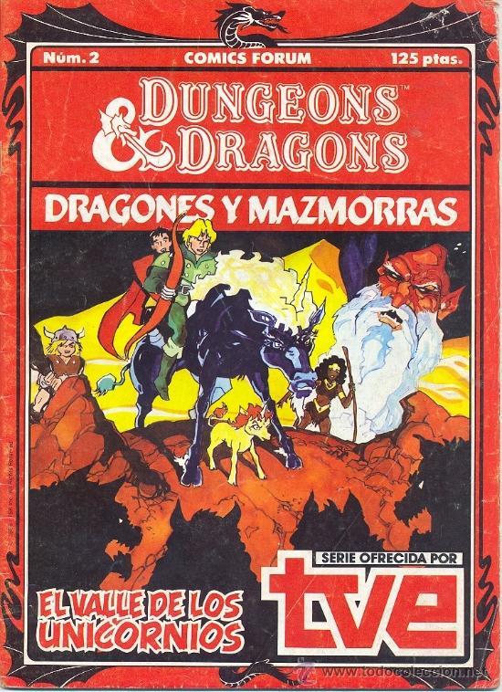 DUNGEONS & DRAGONS DRAGONES Y MAZMORRAS Nº 2 (Tebeos y Comics - Forum - Otros Forum)