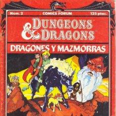 DUNGEONS & DRAGONS DRAGONES Y MAZMORRAS Nº 2