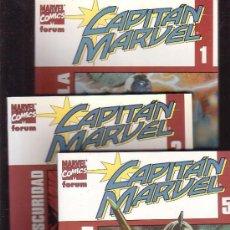 Cómics: CAPITAN MARVEL VOL II -LOTE DE 3 EJEMPLARES ( Nº 1, 2, 5, ). Lote 32848351