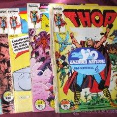 Cómics: LOTE DE 9 COMICS THOR DE COMICS FORUM DE MARVEL. Lote 32946462