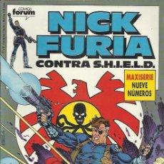 Cómics: NICK FURIA CONTRA S.H.I.E.L.D. ( FORUM ) ORIGINAL1989-1990 COMPLETA. Lote 32957370