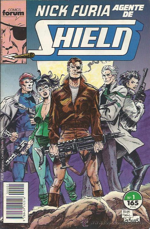NICK FURIA AGENTE DE SHIELD ( FORUM ) ORIGINAL1990-1991 COMPLETA (Tebeos y Comics - Forum - Furia)