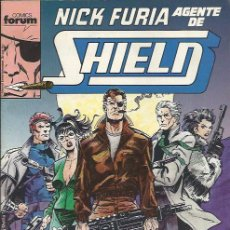 Cómics: NICK FURIA AGENTE DE SHIELD ( FORUM ) ORIGINAL1990-1991 COMPLETA. Lote 32957439