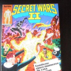 Cómics: SECRET WARS TOMO RETAPADO Nº 16 AL 20 FORUM E3. Lote 32959109