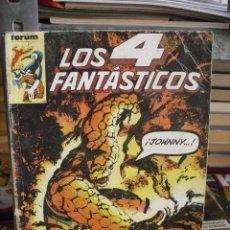 Cómics: LOS 4 FANTÁSTICOS - VOL. 1 - RETAPADO - 5 NÚMEROS (41-42-43-44-45) - FÓRUM - PLANETA 1986. Lote 32990777