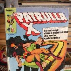 Cómics: PATRULLA-X VOL. 1 - RETAPADO - 5 NÚMEROS (42-43-44-45-46) - FÓRUM - PLANETA 1987. Lote 32991395