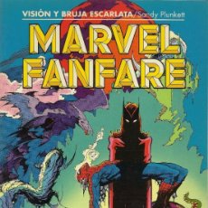 Cómics: MARVEL FANFARE. 4 PRESTIGIOS . Lote 33023971